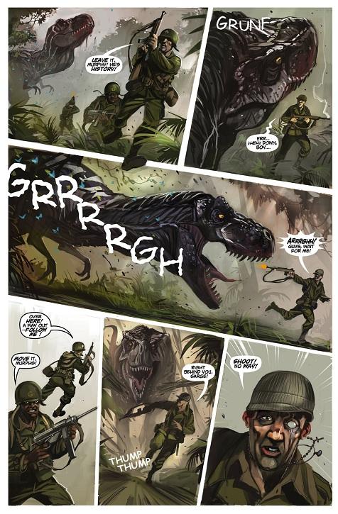 Chronos Commandos Artwork
