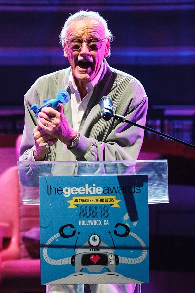 The Geekie Awards - Photos By Joe Lester - Lifetime Achievement Award - Stan Lee JL139697