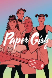 JUL190107 - PAPER GIRLS TP VOL 06 - HR_787799